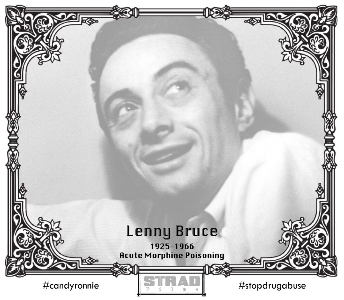 Comedian Lenny Bruce